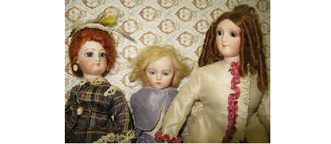 Antique Fashion Dolls